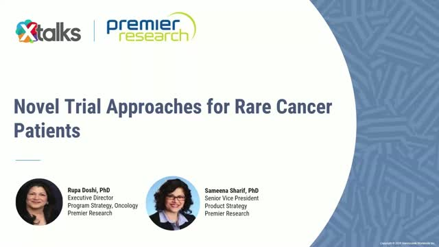 Novel Trial Approaches for Rare Cancer Patients