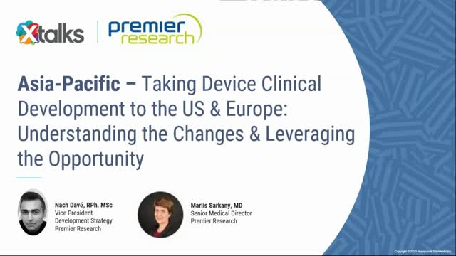 Asia-Pacific – Taking Device Clinical Development to the US & Europe