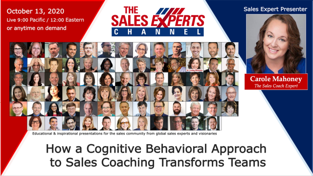 How a Cognitive Behavioral Approach to Sales Coaching Transforms Teams