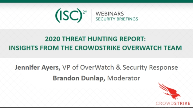 2020 Threat Hunting Report: Insights from the CrowdStrike OverWatch Team