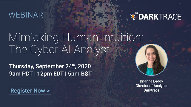 Mimicking Human Intuition: The Cyber AI Analyst