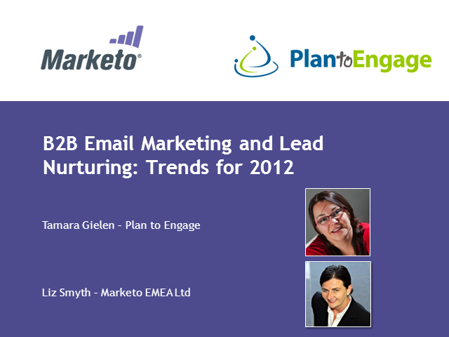 B2B Email Marketing and Lead Nurturing – Trends for 2012