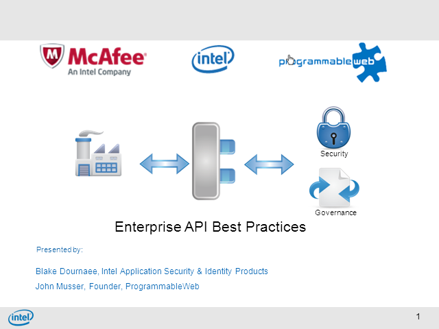 Enterprise API Requirements and Best Practices- with ProgrammableWeb