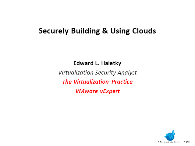 Securely Building Clouds: Thoughts and Concerns