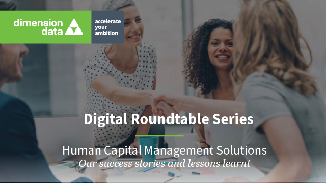 Human Capital Management Solutions - Our success stories and lessons learnt