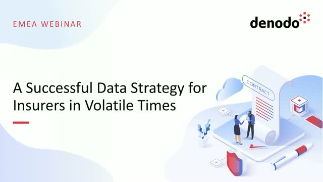 A Successful Data Strategy for Insurers in Volatile Times