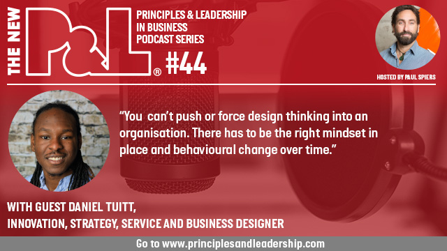 The New P&L speaks to Design & Systems Thinking specialist, Daniel Tuitt