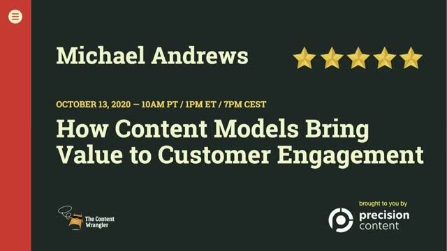 How Content Models Bring Value To Customer Engagement