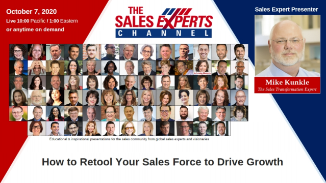 How to Retool Your Sales Force to Drive Growth