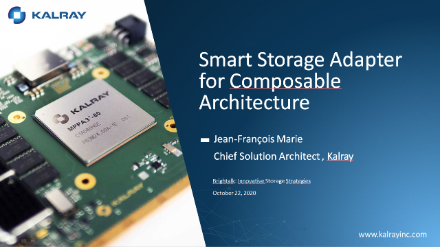 Smart Storage Adapter for Composable Architecture