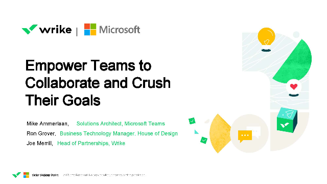 Empower Teams to Collaborate and Crush Their Goals
