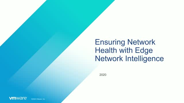Ensuring Network Health with Edge Network Intelligence