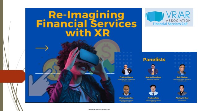 Re-Imagining Financial Services with XR