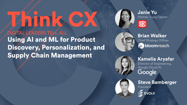 Think CX Series: Using AI & ML for Product Discovery & Personalization