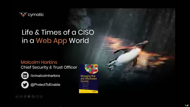 Life and times of a CISO in a web app world