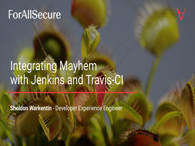 Integrating Mayhem with Jenkins and Travis-CI