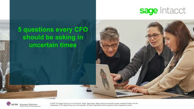 5 Questions Every CFO Should Be Asking in Uncertain Times