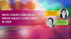 What Every CISO Must Know About Compliance in 2020