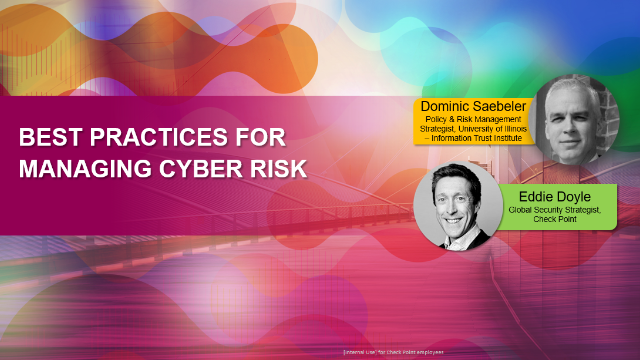 Best Practices for Managing Cyber Risk