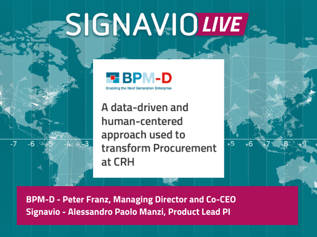 A data-driven and human-centered approach used to transform Procurement at CRH