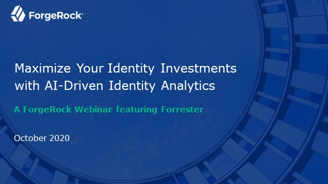 Maximize Your Identity Investments with AI-Driven Identity Analytics