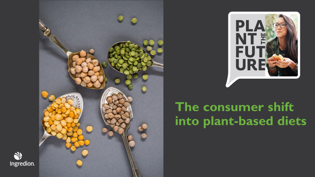 The consumer shift into plant-based diets