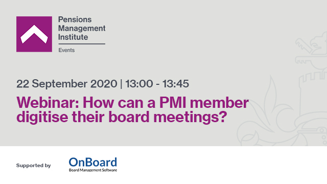 How can a PMI member digitise their board meetings?