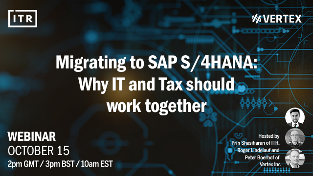 Migrating to SAP S/4 HANA - why IT and tax should work together?