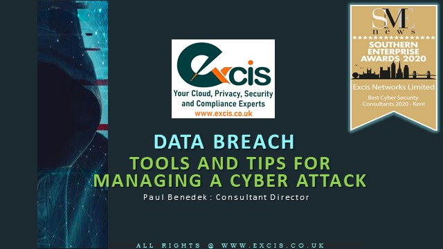 Data Breach – Tools and tips for managing a cyber attack