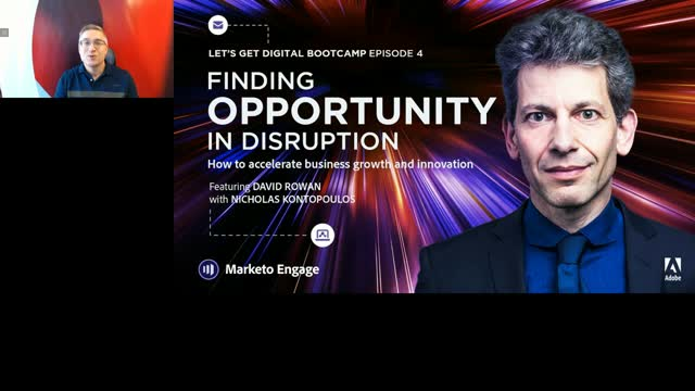 Finding Opportunity in Disruption