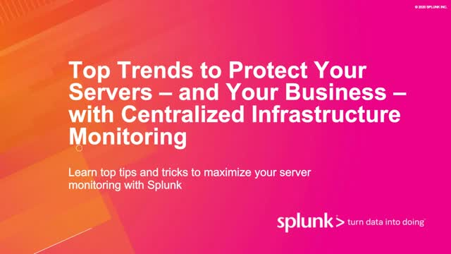 Top Trends to Protect Your Servers and Business with Centralized Infrastructure