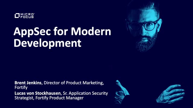 Application Security for Modern Development