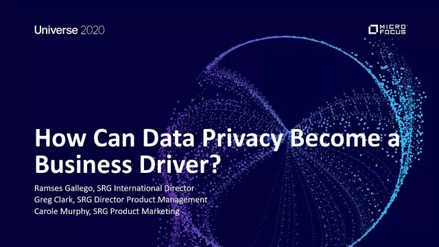 How can Data Privacy Become a Business Driver