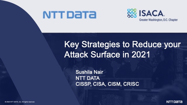 Key Strategies to Reduce your Attack Surface in 2021