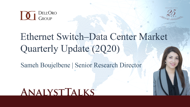 Ethernet Data Center Switch Market Quarterly Update (2Q20)