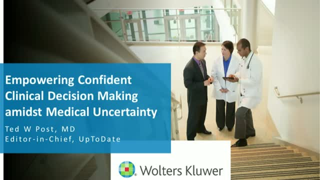 Empowering Confident Clinical Decision Making Amidst Medical Uncertainty