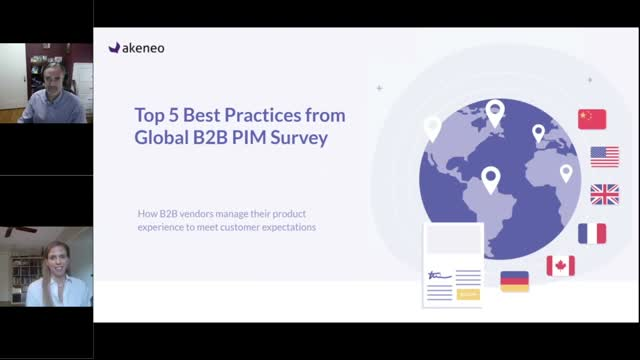 Top 5 Best Practices from Global B2B PIM Survey