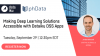Making Deep Learning Solutions Accessible with Dataiku DSS Apps