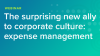 The surprising new ally to corporate culture: expense management
