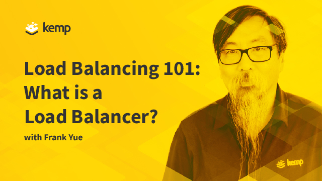 Load Balancing 101 - What is a load balancer?