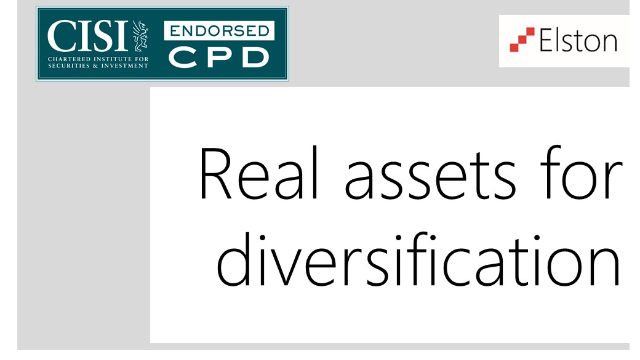 CPD: Real Assets for Diversification