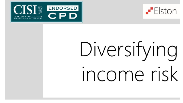CPD: Diversifying income risk