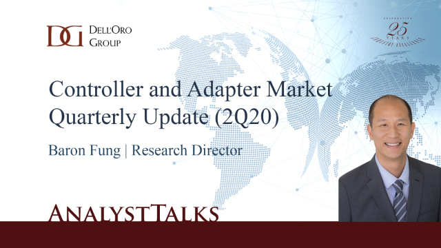 Ethernet Controller and Adapter Market Quarterly Update (2Q20)