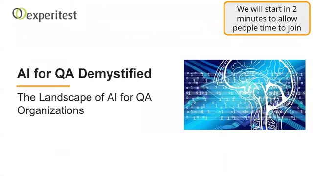 The Landscape of AI for QA Organizations and what it means to you