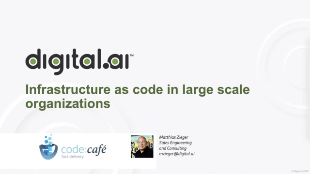 Infrastructure as Code in Large Scale Organizations
