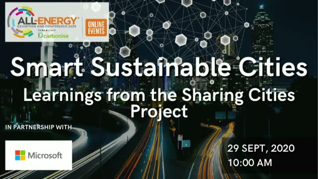 Smart Sustainable Cities – Learnings from the Sharing Cities Project