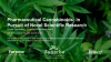 Pharmaceutical Cannabinoids: In Pursuit of Novel Scientific Research