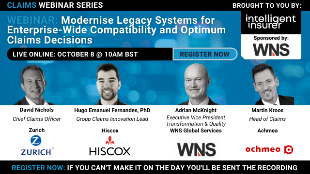Modernise Legacy Systems for Enterprise-Compatibility and Claims Decisions