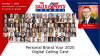 Personal Brand Your 2020 Digital Calling Card