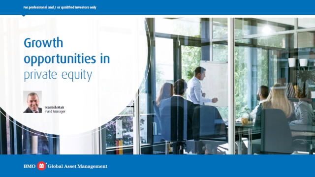 Growth opportunities in private equity